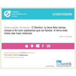 Life Changing Words (Portuguese Brazilian)