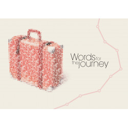 English: Words for the journey