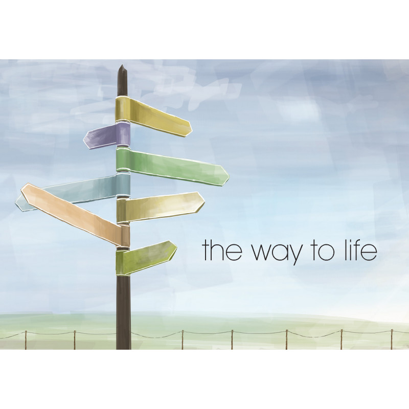 English: The way to life