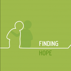 English: Finding hope...