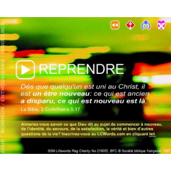 Start again - Flash presentation (French)