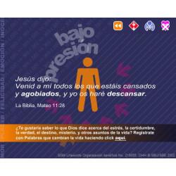 Under pressure - Flash presentation (Spanish)